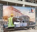 Bâche frontlight- Construction - Window2Print