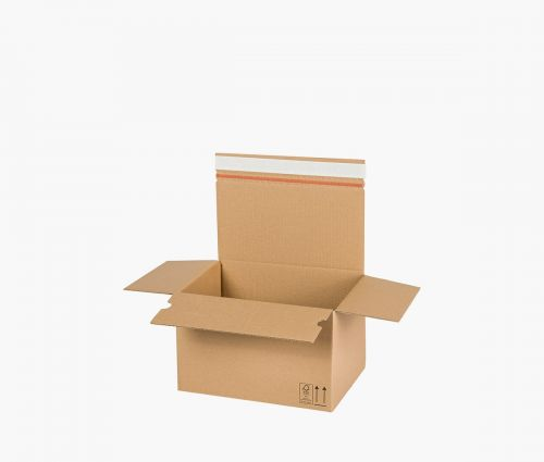 Boîte carton AUTO 50 - carton de retour - 10 pièces ✦ Window2Print