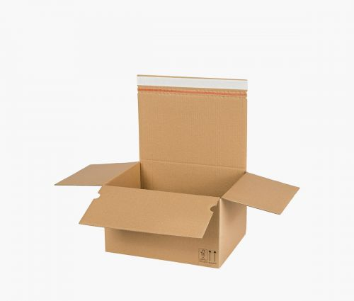 Boîte carton AUTO 70 - carton de retour - 10 pièces ✦ Window2Print