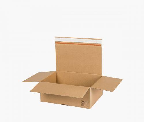 Boîte carton AUTO 90 - carton de retour - 10 pièces ✦ Window2Print