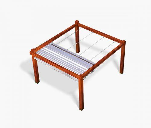 Store pour pergola - Window2Print