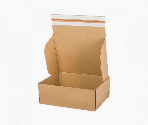 Boîte carton FAST 50 - carton de retour - 10 pièces ✦ Window2Print
