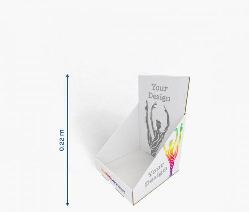 Présentoire 15 x 15 x 22 cm ✦ Window2Print