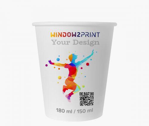 Gobelets en papier 150 ml - Window2Print
