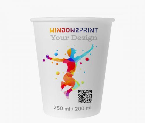 Gobelets en papier 200 ml - Window2Print