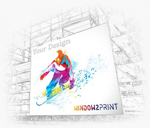 Banderole publicitaire - Window2Print