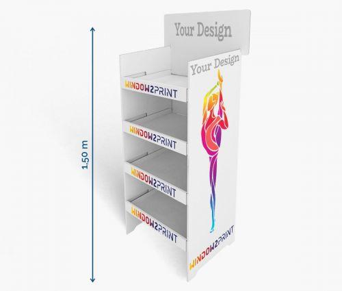 PLV Présentoirs 1 - 60 x 40 x 150 cm - Window2Print