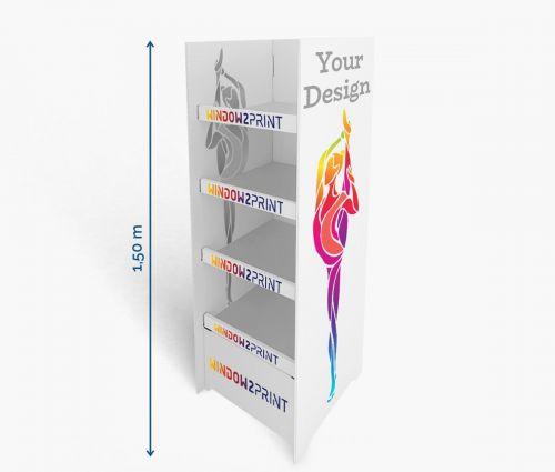PLV Présentoirs 2 - 60 x 40 x 150 cm ✦ Window2Print