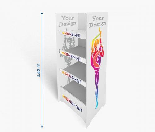 PLV Présentoirs 3 - 60 x 40 x 140 cm - Window2Print