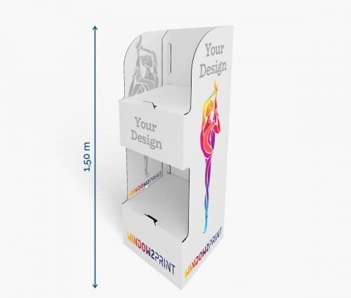 PLV Présentoirs 7 - 60 x 40 x 150 cm - Window2Print