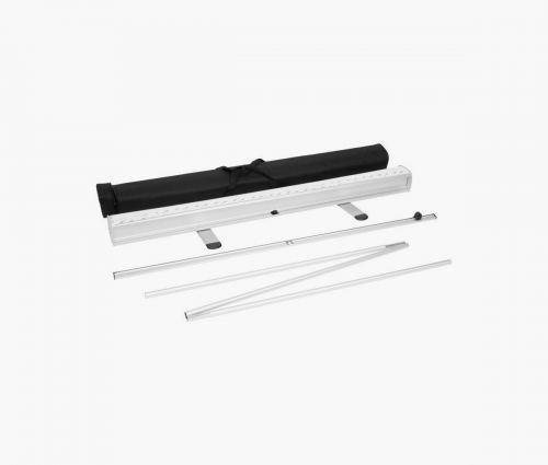 Rollup Transparent - Sa structure est légère, facile à plier et à ranger ✦ Window2Print