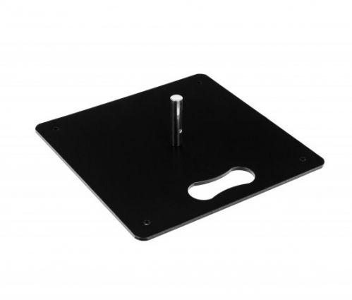 Pied Carré En Métal 30 cm - Poids: 4 kg ✦ Window2Print
