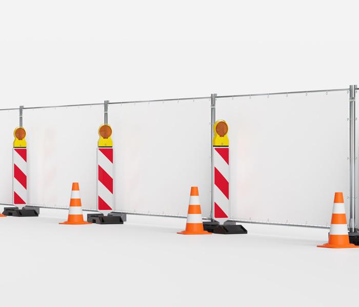 Bache PVC sur mesure pour les échafaudages et les clôtures