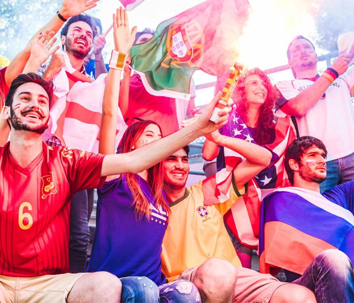 Concevez et imprimez vos banderoles de stade et des drapeaux de supporters